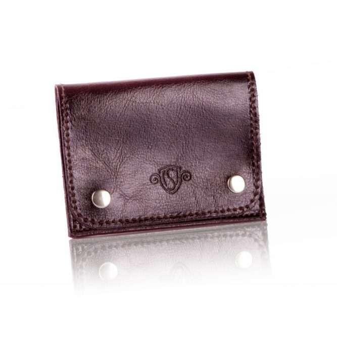 Elegantní kožená pánská peněženka značky SOLIER SW18 - BROWN