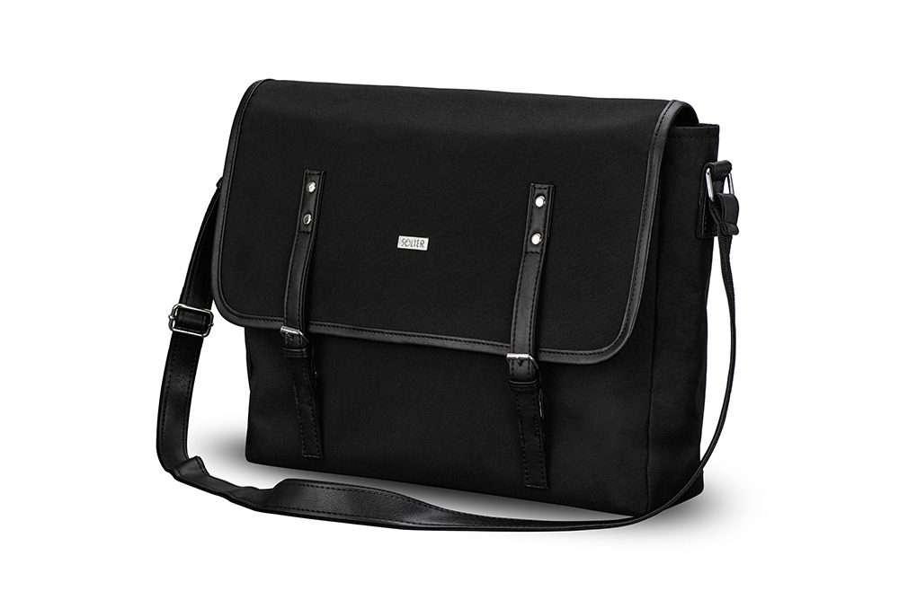 Solier taška přes rameno S17 black (černá)