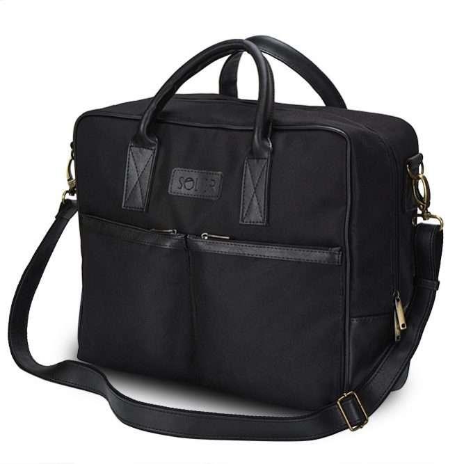 Solier taška na notebook S23 black (černá)