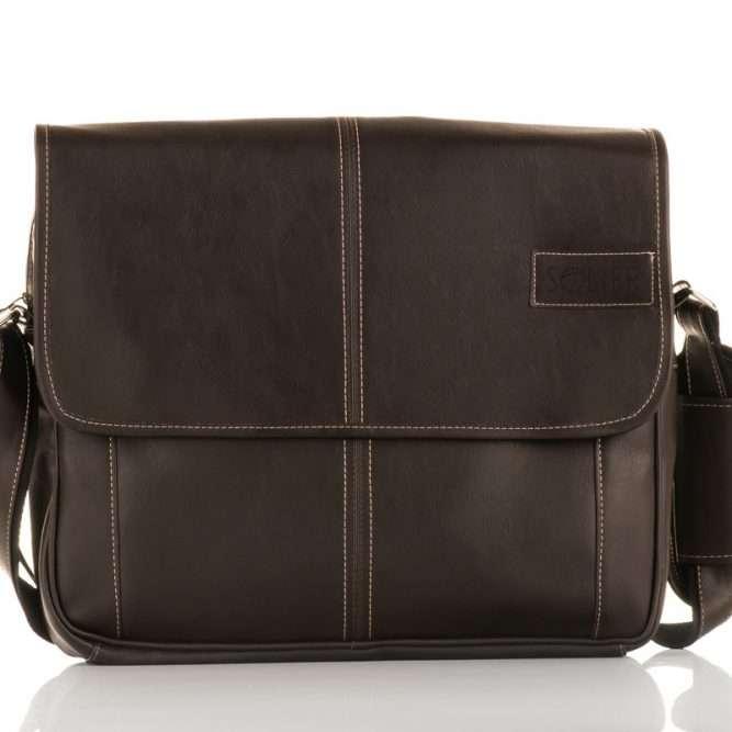 Solier pánská taška přes rameno S15 brown (hnědá)