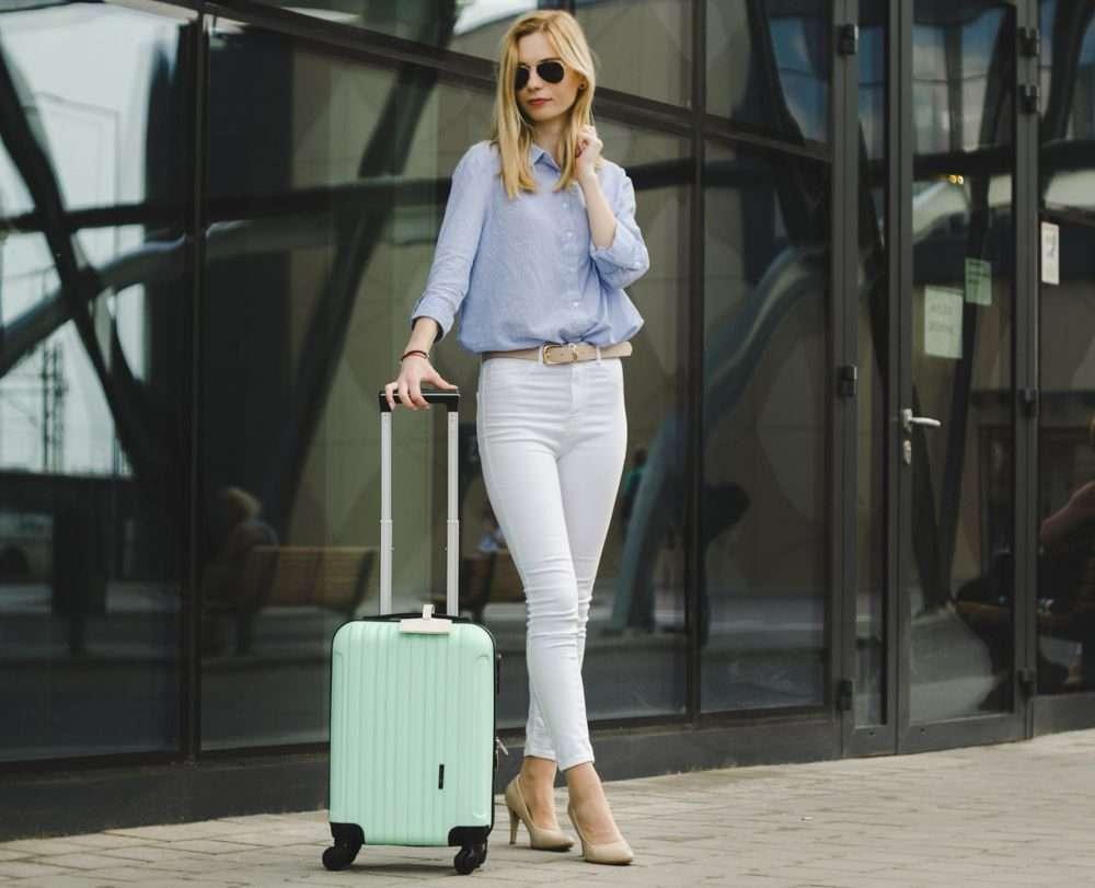 Solier cestovní kufr STL2011 ABS NAVY XS