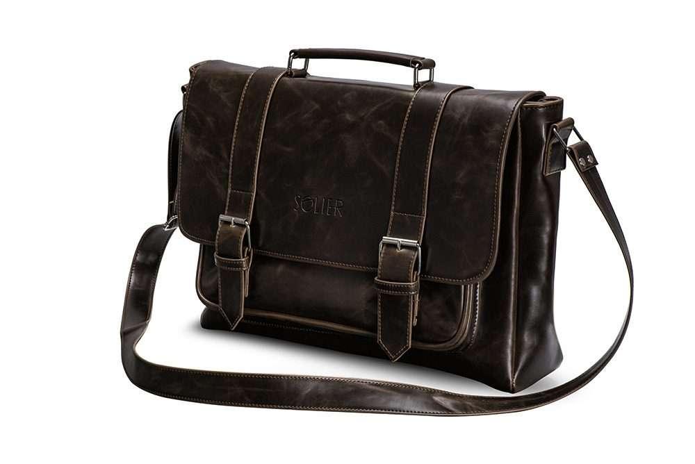 Solier taška na notebook S25 brown (hnědá)