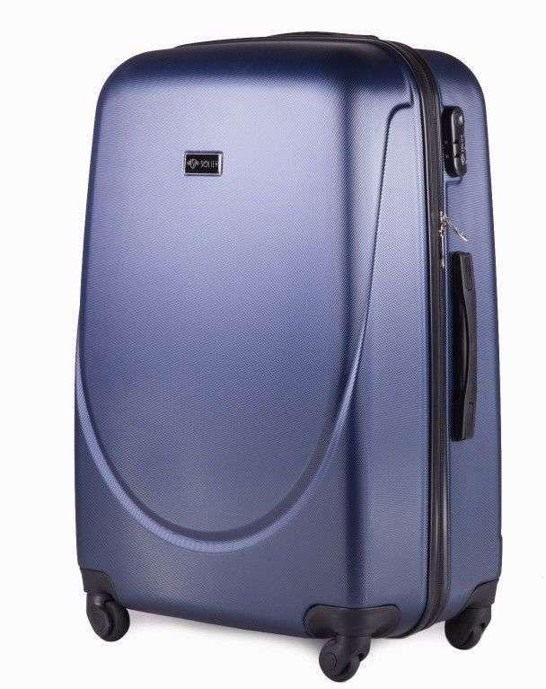 Solier cestovní kufr STL310 ABS DARK BLUE L