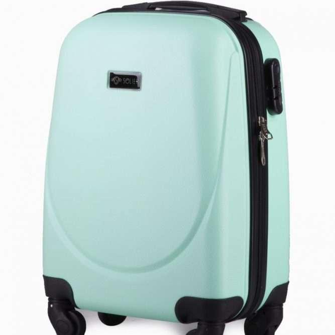 Solier cestovní kufr STL310 ABS LIGHT GREEN XS