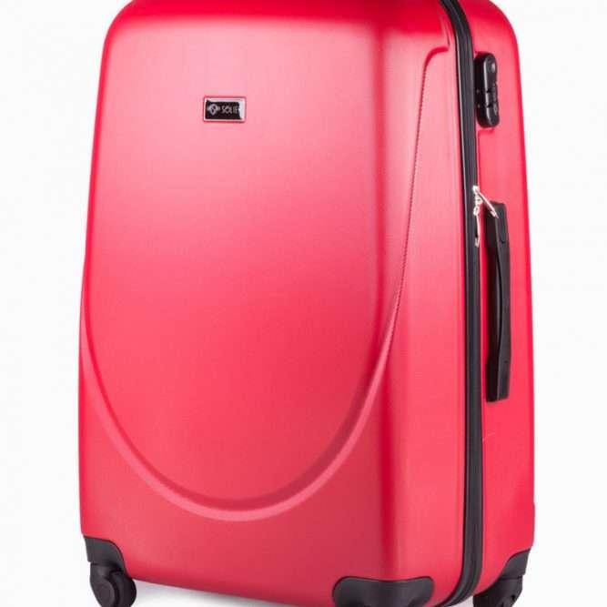 Solier cestovní kufr STL310 ABS RED L