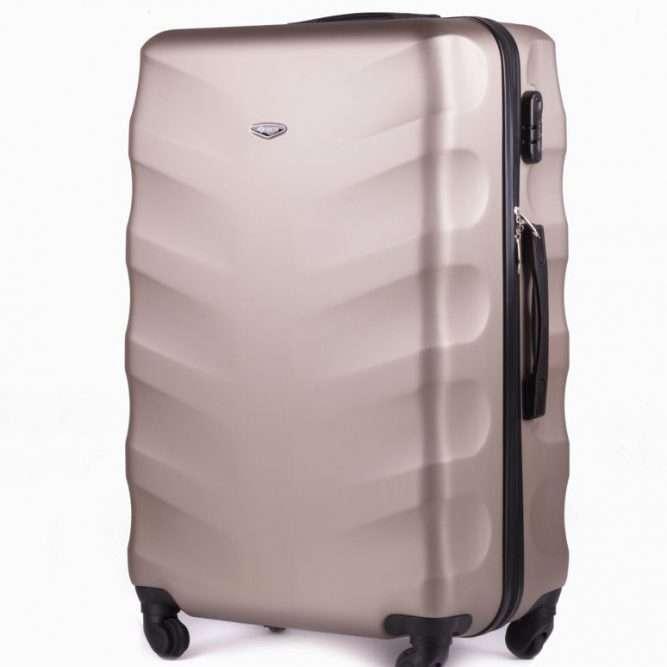 Cestovní kufr STL402 ABS CHAMPAGNE M