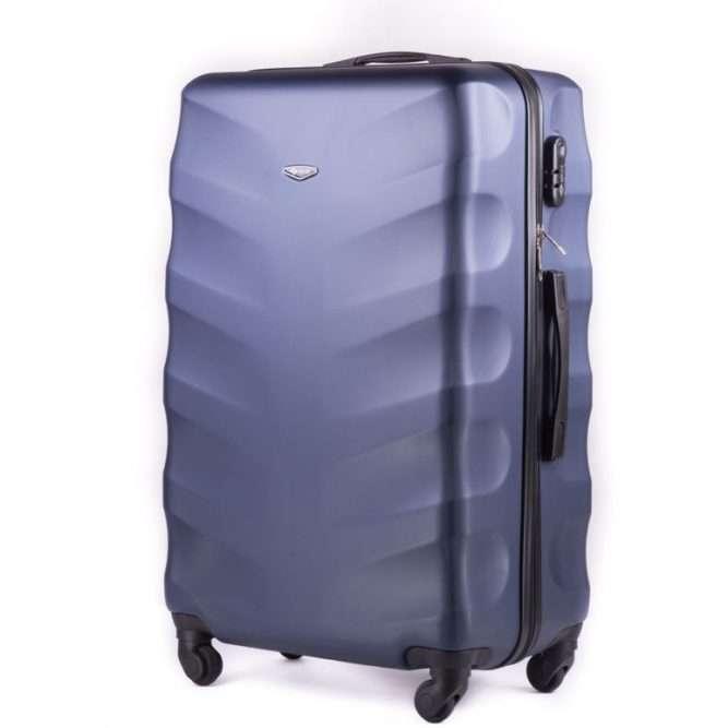 Cestovní kufr STL402 ABS DARK BLUE M