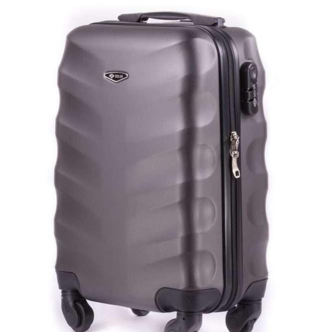 Solier cestovní kufr STL402 ABS DARK GREY XS