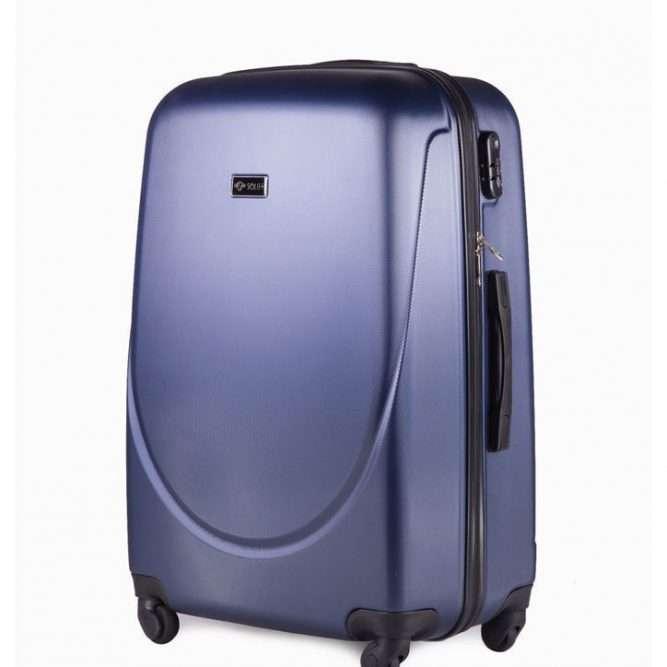 Solier cestovní kufr STL310 ABS DARK BLUE S