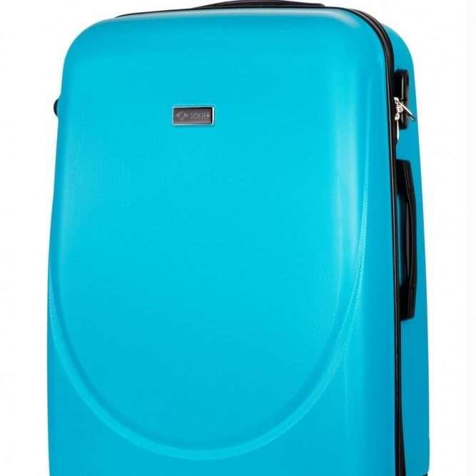 Solier cestovní kufr STL310 ABS CYAN L