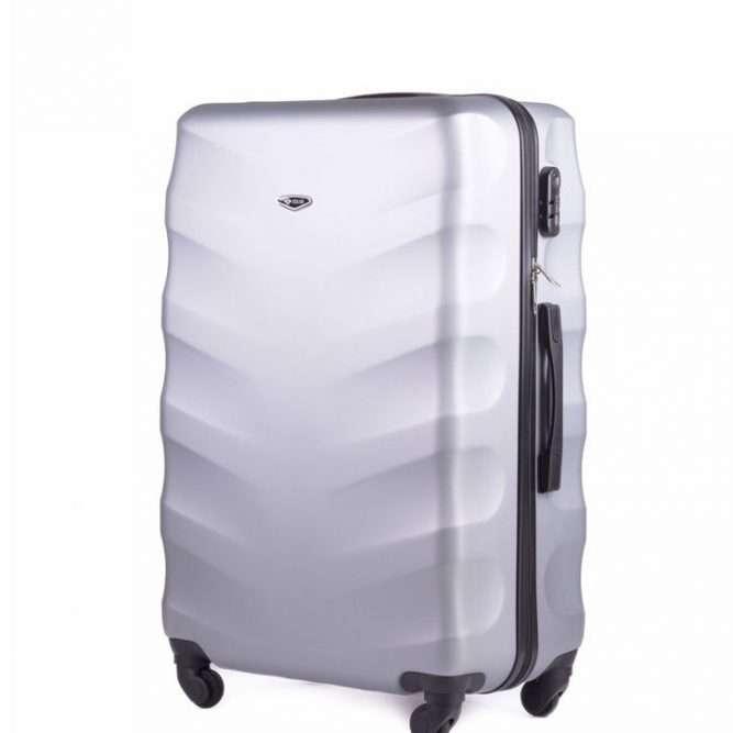Solier cestovní kufr STL402 ABS SILVER S