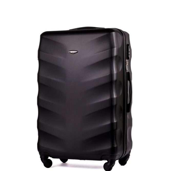 Solier cestovní kufr STL402 ABS BLACK S