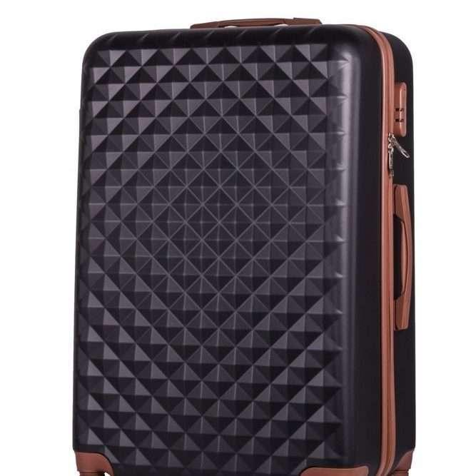 Cestovní kufr SOLIER STL190 M - BLACK