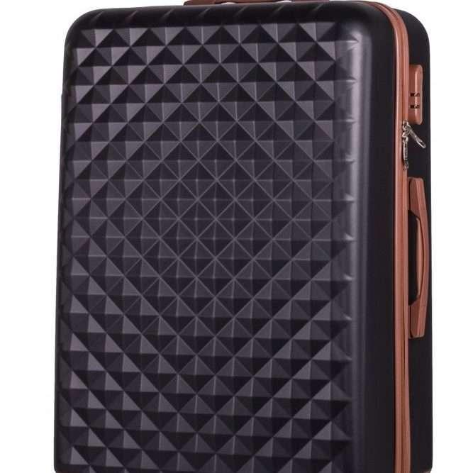 Cestovní kufr SOLIER STL190 L- BLACK