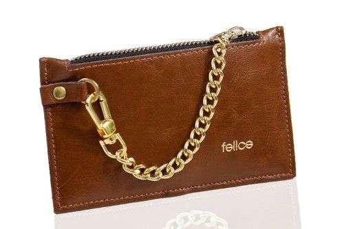 Kožená peněženka pro ženy FELICE P07 - VINTAGE BROWN